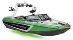 runabout in-bord / bow-rider / de wakeboard / de ski nautique
