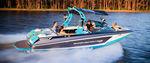 runabout in-bord / bow-rider / de ski nautique / max. 15 personnes