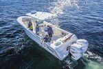 Coque open hors-bord / bi-moteur / de pêche sportive / T-Top 334 CC Mako Marine