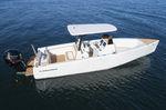 coque open hors-bord / à console centrale / de pêche sportive / max. 12 personnes