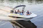 deck-boat hors-bord / de wakeboard / max. 10 personnes