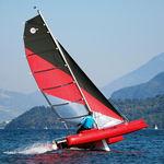 catamaran de sport gonflable / double / solitaire / multiple