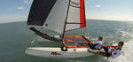 catamaran de sport de loisir / école / double