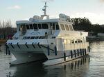 bateau à passagers catamaran / in-bord