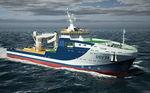 navire de service offshore de support pour la plongée