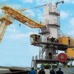 déchargeur de navire pneumatique / mobile