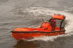 bateau de sauvetage in-bord hydrojet