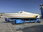 remorque de manutention / pour chantier naval / automotrice / contrôlée à distance