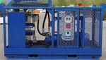 groupe hydraulique pour bateau / pour navire / pour écrémeur d'hydrocarbures / à moteur électrique