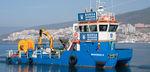 bateau antipollution / catamaran / in-bord