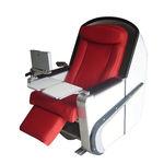 siège pour navire à passagers / pour bateau de transport de passagers / avec accoudoirs / ajustable