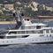 méga-yacht de croisière / à fly / avec héliport