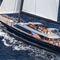 sailing-superyacht de croisière rapide / de course / salon de pont / en carbone