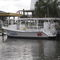 Bateau à vision sous-marine hors-bord 36' Glass Bottom Boat Newton Boats