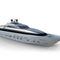 super-yacht de croisière / à fly fermé / en aluminium / coque planante