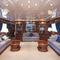 super-yacht de croisière / à fly / à déplacement