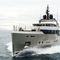 super-yacht de croisière / explorer / à fly / à déplacement