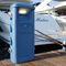 borne de distribution électrique / avec éclairage intégré / pour ponton