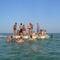 plateforme pour marina / pour base de loisirs / pour le secteur événementiel / pour maison flottante