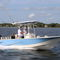 coque open hors-bord / à console centrale / open / de pêche sportive