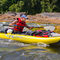 kayak sit-on-top / gonflable / d'eau vive / biplace