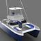 vedette catamaran / in-bord / à fly / de pêche sportive