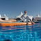 plateforme pour bateau / pour yacht / pour le secteur événementiel / gonflable