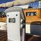 borne de distribution d'eau / de distribution électrique / avec éclairage intégré / pour ponton