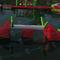 jeu aquatique pont / poutre d'équilibre / gonflable / flottant