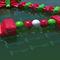 jeu aquatique bouée / poutre d'équilibre / piste de course / bulle