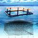 cage à poissons pour l'aquaculture / en plastique / carrée / flottante