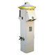 borne avec éclairage intégré / de distribution électrique / pour ponton / en acier inoxydable