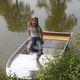 barque pêche / hors-bord / en aluminium