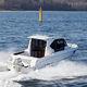 cabin-cruiser hors-bord / hard-top / avec timonerie / de pêche sportive