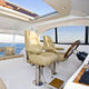 siège pilote / pour bateau / pour yacht / avec accoudoirs