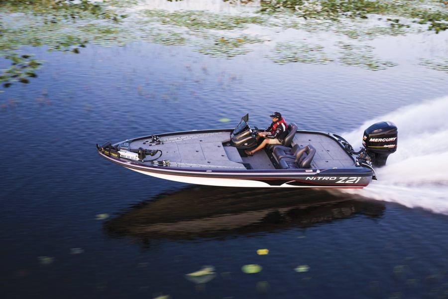bateau de peche nitro