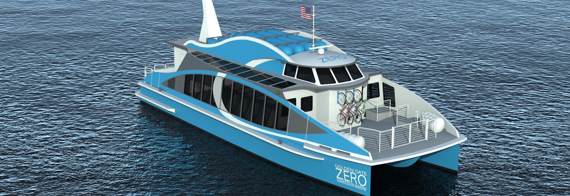 La construction du bateau premier-de-son-aimable de pile à combustible d'hydrogène débute