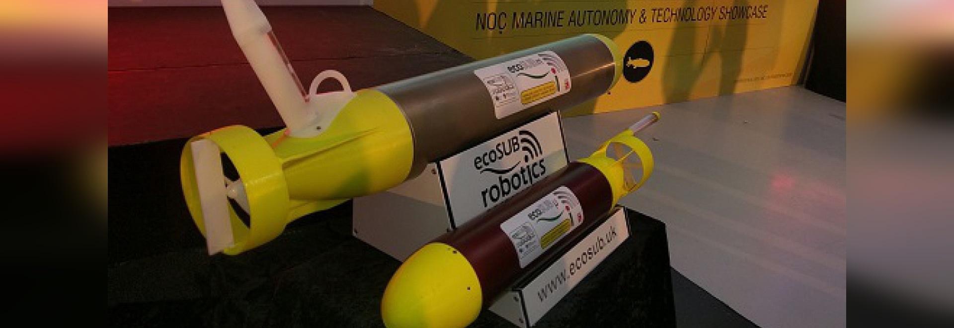 L'ecoSUBm innovateur et l'ecoSUBμ plus petit (courtoisie de NOC)