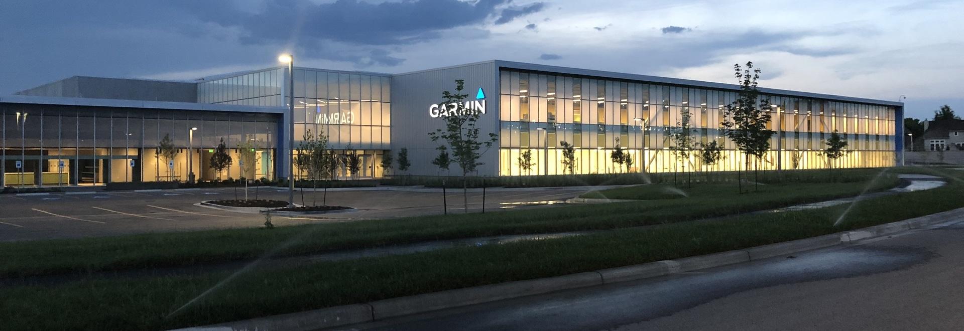 Garmin ouvre la nouvelle installation industrielle