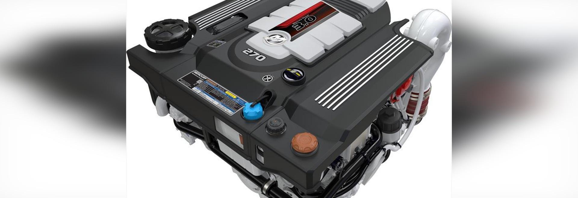 Mercury Marine a présenté une nouvelle ligne de trois moteurs diesel de litre