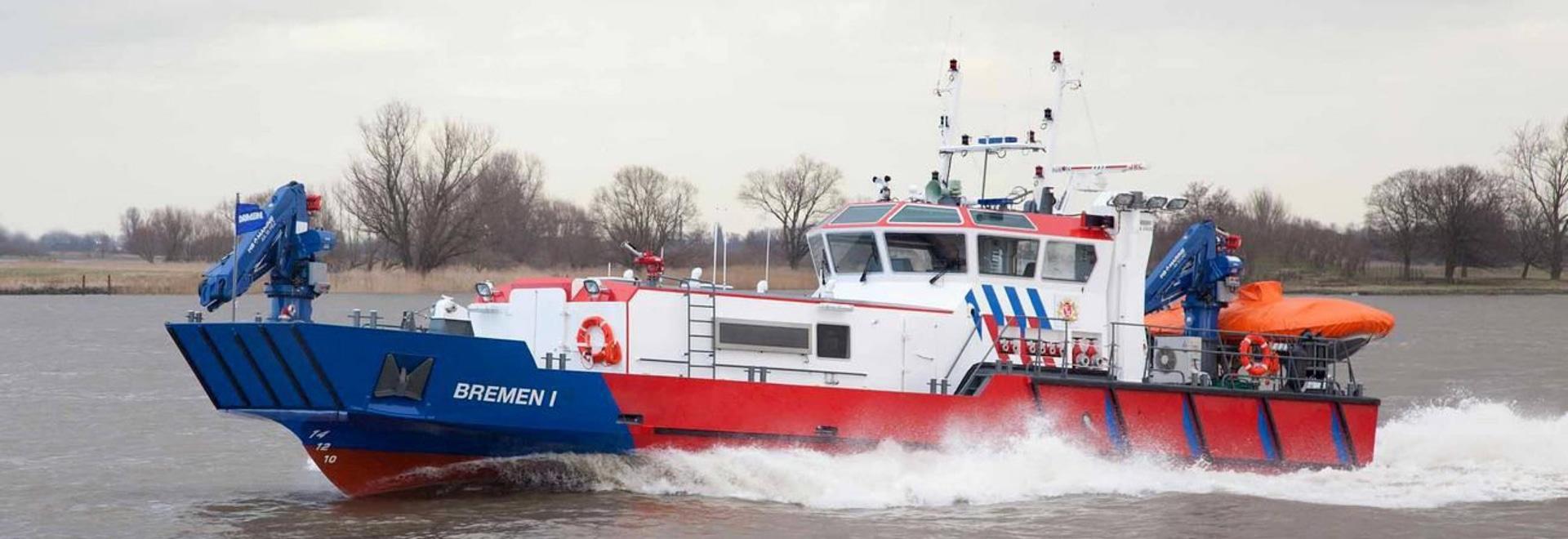 NOUVEAU : bateau-pompe par Damen