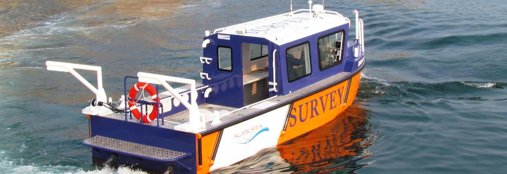 NOUVEAUTÉ : bateau d'étude hydrographique by aurora (dalian) yachts co ltd