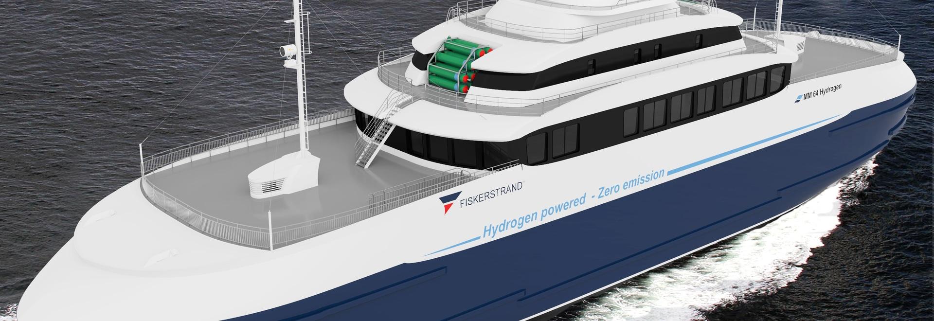 Les piles à combustible testées pour la première conversion de ferry-boat hybride à hydrogène au monde