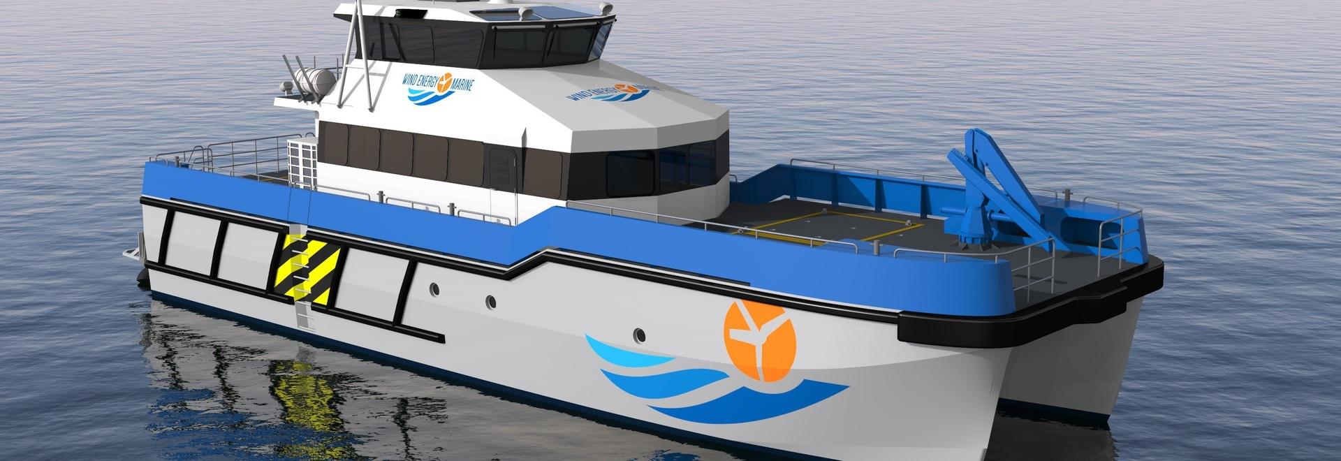 PIRIOU enregistre la commande de deux navires de soutien à l'éolien en mer pour WIND ENERGY MARINE