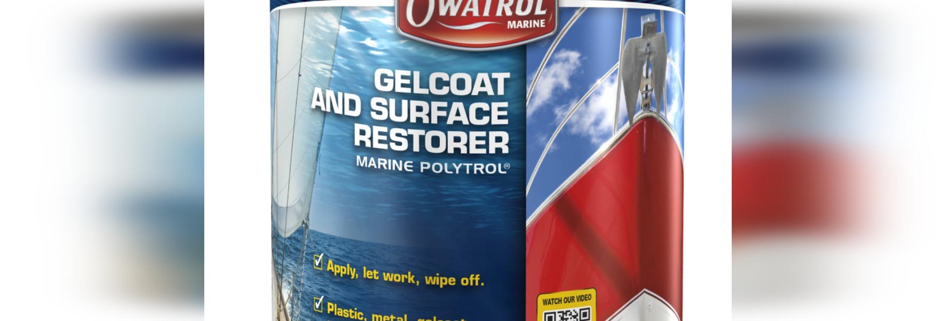 Les produits nouveaux d'Owatrol complètent son restaurateur de couleur de Marine Polytrol