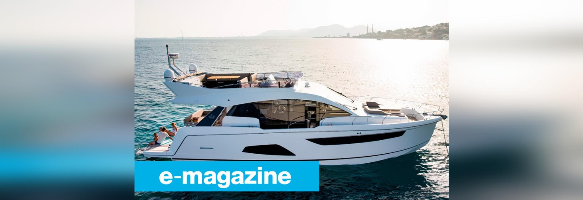 Sealine F530 : Le yacht comme salon