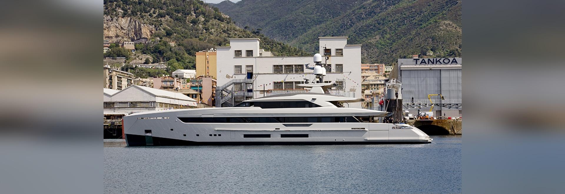 Tankoa Yachts lance son quatrième superyacht