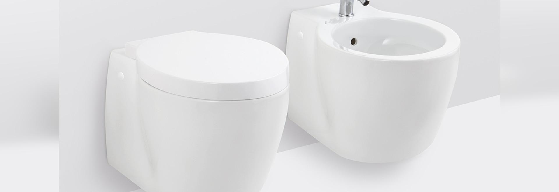 Une conception lisse mise à jour pour la toilette et le ...