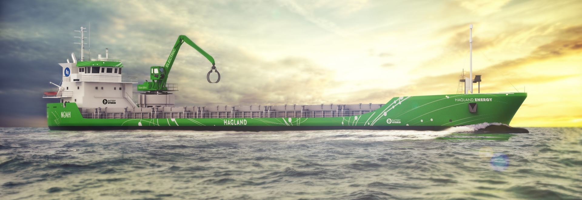 Wärtsilä au 1er navire hybride de mer de la modification de Carry Out World pour faire court