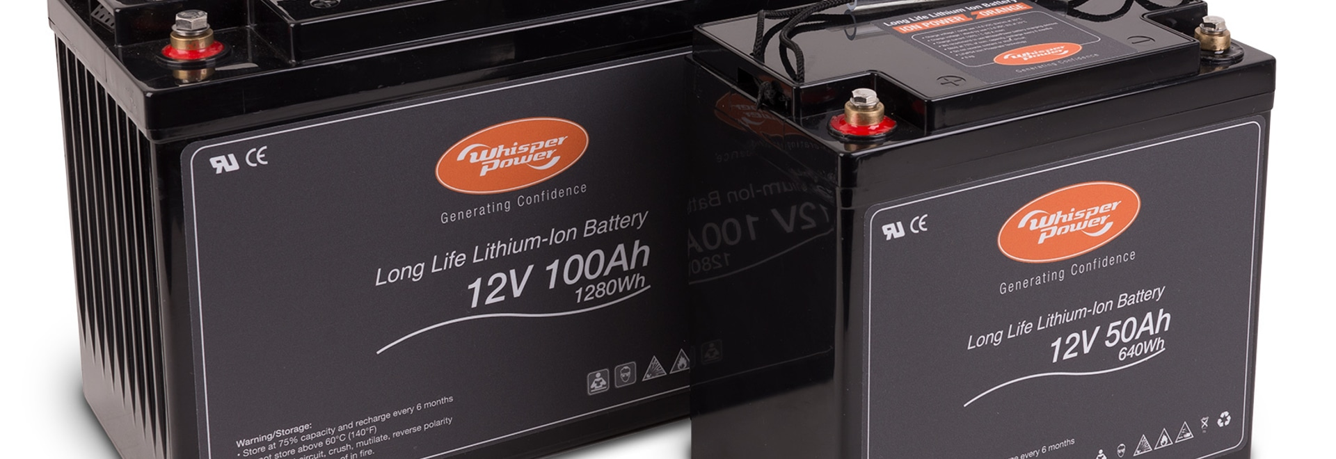 WHISPERPOWER LANCE UNE NOUVELLE BATTERIE LITHIUM-ION